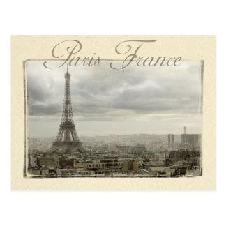 Paris france cartoes postais