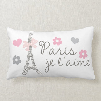 Paris Je T'aime Almofada Lombar