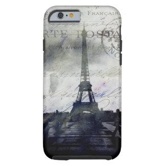 Paris Textured no caso Cas resistente do iPhone 6 Capa Tough Para iPhone 6