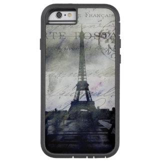 Paris Textured no caso da identificação do caso do Capa Tough Xtreme Para iPhone 6