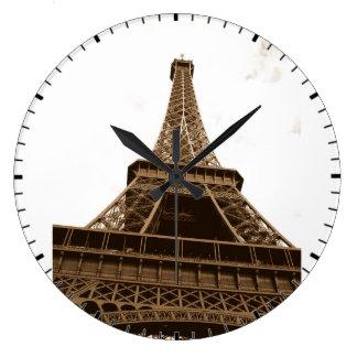 Paris - torre Eiffel - amor Paris - France de I Relógios De Paredes