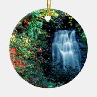 Parque da cachoeira enfeites para arvores de natal