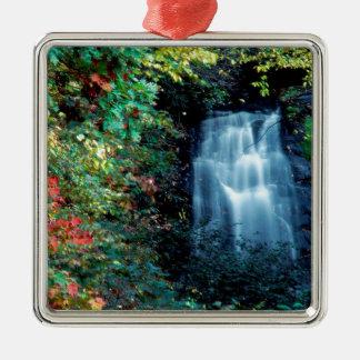 Parque da cachoeira ornamento