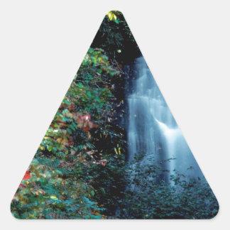 Parque da cachoeira adesivo triângulo