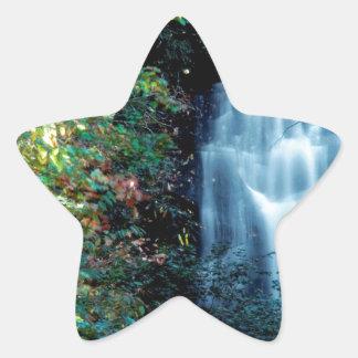 Parque da cachoeira adesivo estrela