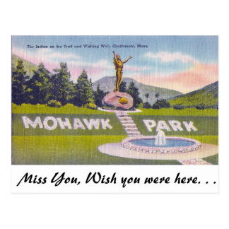 Parque do Mohawk, Charlemont, Massachusetts Cartão Postal
