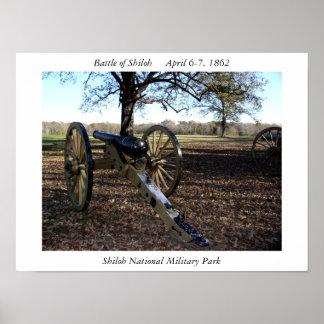 Parque militar nacional de Shiloh Pôster