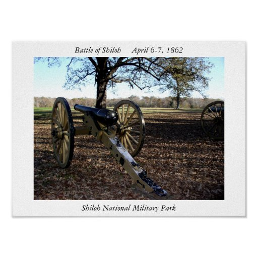 Parque militar nacional de Shiloh Posters