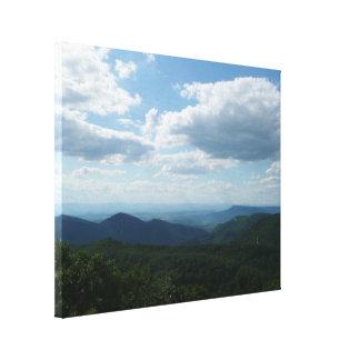 Parque nacional apalaches de montanhas II Impressão Em Tela