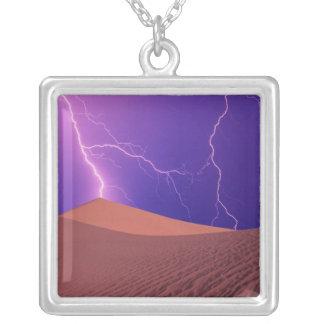 Parque nacional de Califórnia, o Vale da Morte, Colar Banhado A Prata