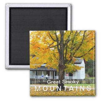 Parque nacional de Great Smoky Mountains da casa d Ímã Quadrado