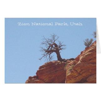 Parque nacional de Zion, Utá Cartão