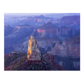 Parque nacional do Grand Canyon, arizona, EUA. Cartão Postal