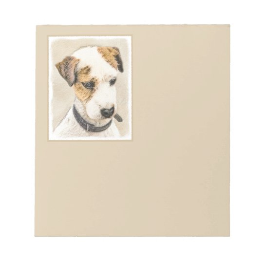 Parson Jack Russell Terrier Caderno