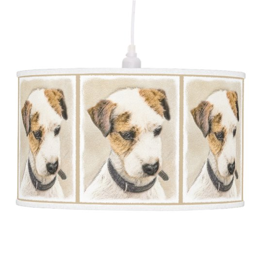 Parson Jack Russell Terrier Luminária De Teto