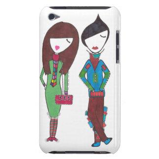 parte à moda dois do casal no ipod touch capas iPod Case-Mate