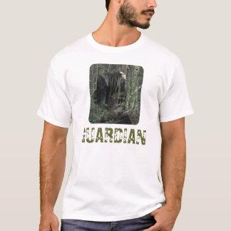 Parte dianteira e parte traseira do GUARDIÃO Camisetas