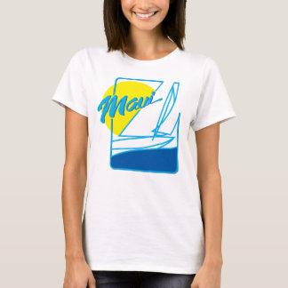 Parte superior da navigação das senhoras Maui Camisetas