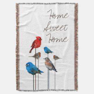 """Partido cobertura """"Home"""" doce Home do pássaro do Coberta"""