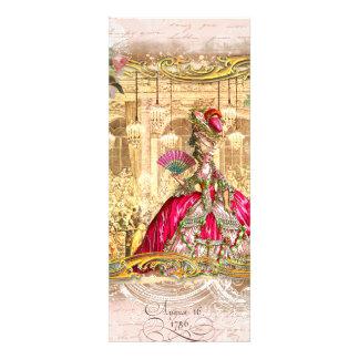 Partido cor-de-rosa de Marie Antoinette em Versalh Convites