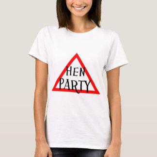 Partido de galinha camiseta