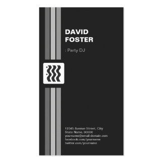 Partido DJ - O dobro superior tomou partido Cartão De Visita