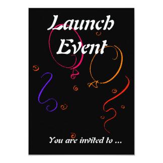 Partido do evento do lançamento convite 11.30 x 15.87cm