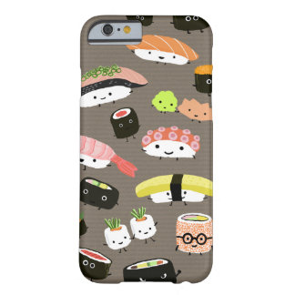 Partido do sushi capa barely there para iPhone 6
