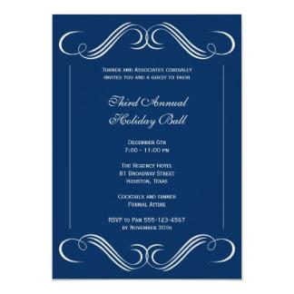Partido incorporado do evento do flourish da convite 12.7 x 17.78cm