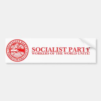 Partido socialista EUA Adesivo Para Carro