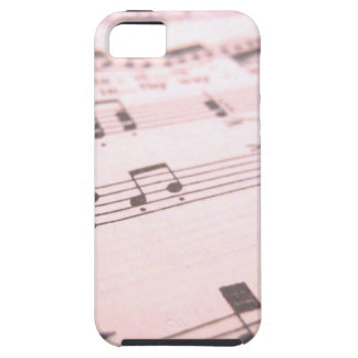 Partitura cor-de-rosa desvanecida capa iPhone 5 Case-Mate