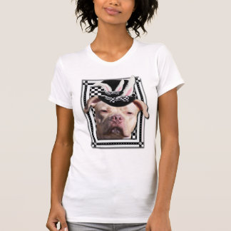 Páscoa - algum coelho o ama - Pitbull Camiseta