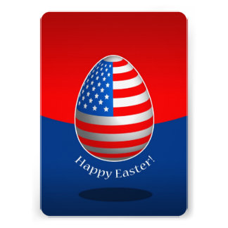 Páscoa americana convites personalizados