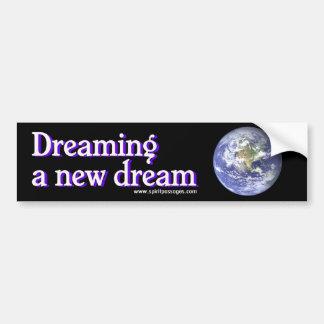 Passagens do espírito que sonham uma etiqueta idea adesivo para carro