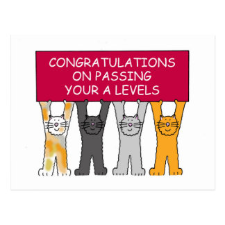 Passar A nivela felicitações Cartão Postal
