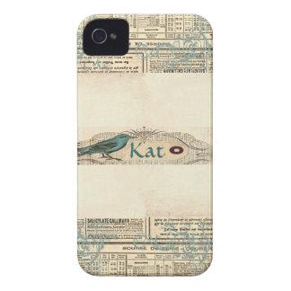 Pássaro Blackberry 9700/9780 corajoso do jornal do Capinhas iPhone 4