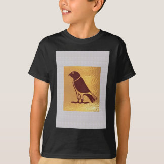 PÁSSARO da ARTE dourada gráfica da coruja de Camisetas