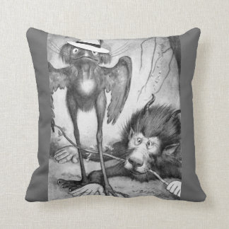 Pássaro de Jubjub e o Bandersnatch Travesseiro De Decoração