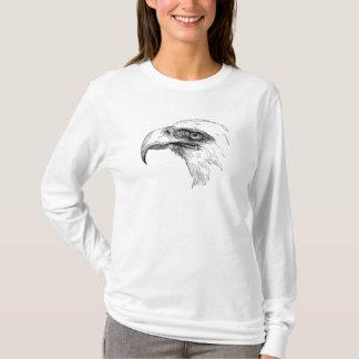 Pássaro Eagles personalizado cabeça da águia Camiseta