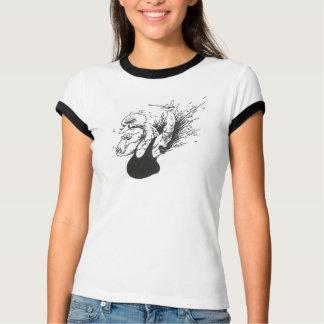 Pássaro em Badass Camiseta