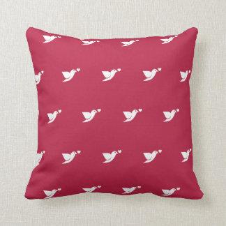 pássaro - lareira almofada