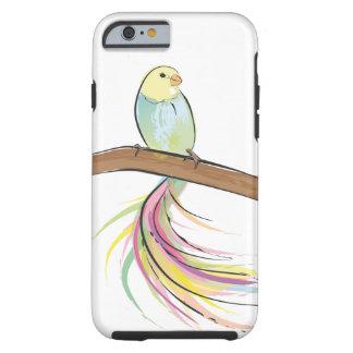 Pássaro tropical capa tough para iPhone 6
