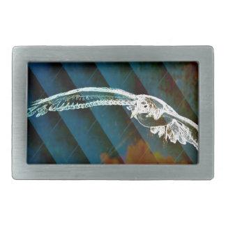 Pássaros abstratos do oceano dos azuis marinhos