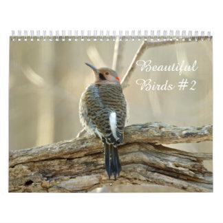 Pássaros bonitos #2 do calendário