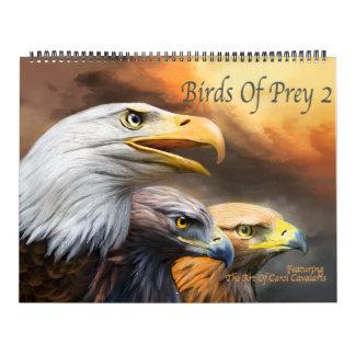 Pássaros do calendário da arte da rapina 2