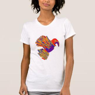 Pássaros múltiplos, desenhos animados, caricatura t-shirt