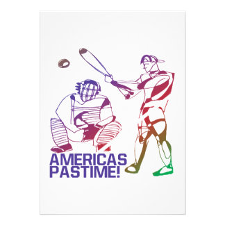Passatempo de Americas Convite Personalizado