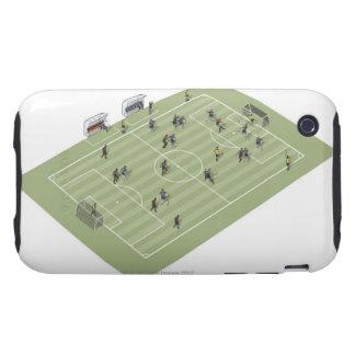 Passo de futebol capas para iPhone 3 tough