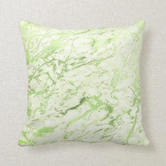 Pastel de mármore feminino das hortaliças almofada