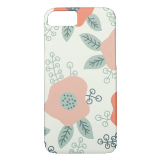 Pastel floral capa iPhone 7